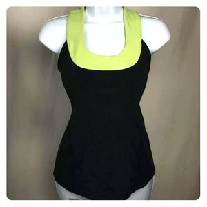 Lululemon Gray Green Athletic Top Size 6